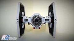 Lego | Modified Star Wars TIE Fighter (75237) (AC Studio) Tags: lego modified star wars tie fighter 75237 custom brick moc building toys toy