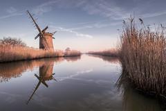 Brograve Mill (Nathan J Hammonds) Tags: brograve mill pump norfolk uk landsacape water ruin broads hdr nikon nisi irex calm morning