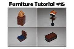 Furniture Tutorial #15 (-soccerkid6) Tags: lego guide furniture minifigure scale brickbuilt chair table candlestick cupboard shelf design tutorial technique