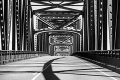 Sometimes I Try to Tell Myself the Light Was Never Real (Thomas Hawk) Tags: america astoria astoriameglerbridge usa unitedstates unitedstatesofamerica washington washingtonstate bridge bw chinook us fav10 fav25 fav50 fav100