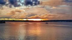 Brasília - Sunset (sileneandrade10) Tags: sileneandrade brasília pôrdosol paisagem céu água reflexo landscape nuvens lagoparanoá lago viagem turismo hdr photoedition photoart photoediting pixlr samsungsmg930f samsung s7