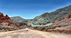 The colour palette of Valle del Arcoiris (marko.erman) Tags: atacama chile latin america desert high altitude colored colorful beautiful dry mineral rocks mountains geology sun sunny sony ultra wide angle uwa pov scenic nature wilderness latinamerica valledelarcoiris rainbowvalley