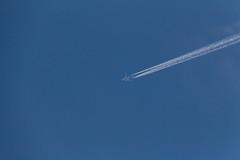 Boeing 777 - N896FD (20190330) (Graham Dash) Tags: addlestone boeing777 fedex n896fd aircraft contrails