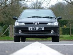 Peugeot 306 GTI-6 (Marc Sayce's Old Digital Photos) Tags: 1999 peugeot 306 gti6 gti black 1998 2000
