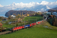 11342 (Bantam61668) Tags: sbb re44 re66 re1010 switzerland