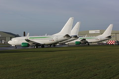 Germania Boeing 737s at Kemble 17.12.18 (Retro Jets) Tags: germania b737 kemble