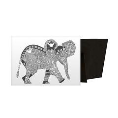 Little Elephant - Contemporary line art of a flower and intricately patterned elephant against a white background.  Purchase: https://spaceplug.com/little-elephant.html . . . . #spaceplug #canvasdemand #gallerywrap #like4like #follow4follow #fashion #art (spaceplug) Tags: blackwhite feather art canvas beauty createyourart spaceplug gallerywrap like4like wallart fineart perfectpic canvasdemand follow4follow fashion