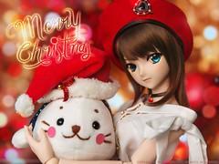 Merry X'mas (TURBOW) Tags: doll toy dollfie volks dollfiedream dd aokoaozaki sirotan merry christmas