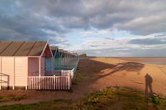 Shadows (Bahi P) Tags: merseaisland essex beachhuts beach shadows