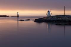 Lighthouse - Hönö Klåva (diesmali) Tags: canoneos6d hönö klåva lighthouse ocean sea reflections clouds sunset coast gothenburg archipelago öckerö canonef24105mmf4lisusm