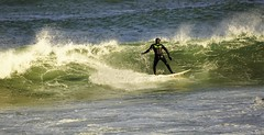 Surfing at the Broch. (artanglerPD) Tags: surfing fraserburgh