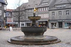 Goslar: Marktbrunnen (zug55) Tags: goslar niedersachsen deutschland germany lowersaxony unesco welterbe weltkulturerbe unescoworldheritagesite worldheritagesite worldheritage marktplatz brunnen fountain