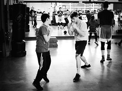 GFX0210 - Sparring (Diego Rosato) Tags: allenamento training xwinter boxelatina boxe boxing pugilato fuji gfx50r fujinon gf63mm bianconero blackwhite rawtherapee sparring