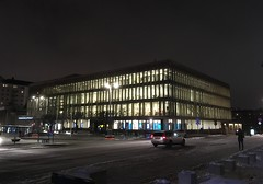Biblioteket (rotabaga) Tags: göteborg gothenburg sverige sweden iphone snö snow