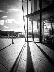 BRYAN_20181030_IMG_0380 (stephenbryan825) Tags: liverpool mannisland merseyside angles backlighting building dramaticlight floor graphic ground intothelight lines pavement selects shadows wideangle