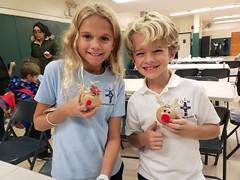 The Kids And Their Ornaments (Joe Shlabotnik) Tags: cameraphone december2018 violet everett galaxys9 2018