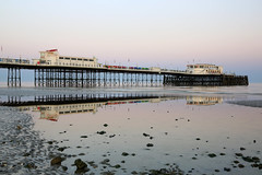 2018_05_06_0210 (EJ Bergin) Tags: sussex westsussex landscape worthing sunset beach sea seaside worthingpier seafront reflection