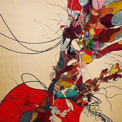 Lee Bul (Tino Schwanemann) Tags: koreanart abstraktion abstract abstractart kunst art berlin gropiusbau acrylic acryl painting leebul