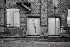 Grai (Svendborgphoto) Tags: monochrome manualfocus metal industrie iron svendborgphoto blackandwhite bw building nikkor nikon nikkorai ais 2828 denmark d800 decay