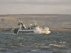 """Marliona"" On Lough Foyle. (willieguildea) Tags: boat fishingboat trawler river lough loughfoyle water waterscape coast coastal coastalireland nikon coolpix p900 donegal ireland eire ulster"