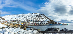 Honningsvog (Einar Schioth) Tags: honningsvåg winter water wind town sky sunshine snow sea sun shore day downtown canon clouds cloud coast vividstriking blusky nationalgeographic ngc nature norway norge landscape lake photo picture outdoor ice einarschioth