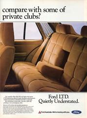 1982 FD LTD By Ford Page 2 Aussie Original Magazine Advertisement (Darren Marlow) Tags: 1 2 8 9 19 82 1982 f d fd l t ltd ford s sedan c car cool collectible collectors classic a automobile v vehicle aussie australian australia 90s