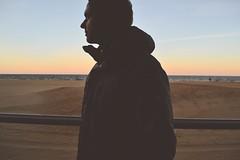 (i threw a guitar at him.) Tags: whirlwind whirl wind virginia beach ocean sea coast atlantic 2019 sunset sky portrait guy cold winter coat season sand water