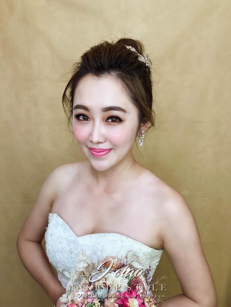 【新秘婕喬】新娘造型創作 / 俏麗高盤髮