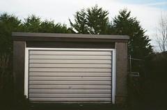 Garage test shot (bigalid) Tags: film konica pop c35efj kodak colorplus 200iso c41 december 2018