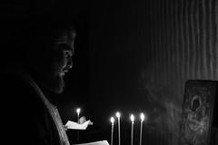 #orthodox #priest #praying #blackandwhite (khuskivadzeketi) Tags: blackandwhite priest praying orthodox