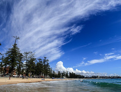 Cirrus over Manly (LSydney) Tags: manly beach clouds cirrus sky
