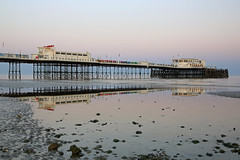 2018_05_06_0214 (EJ Bergin) Tags: sussex westsussex landscape worthing sunset beach sea seaside worthingpier seafront reflection