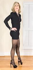 IMG_6445_f (AlexandraCollins) Tags: crossdresser crossdress crossdressing heels legs pantyhose stockings