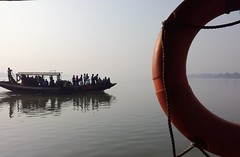 Boat from Boat (Chiradeep.) Tags: river ganges ganga waterscape landscape boat ferryboat people winter westbengal india asia dailylife lifeinindia aroundtheworld discoveryindia incredibleindia mobilephotography cellphonephotography huawei honor5c morning mistymorning foggymorning