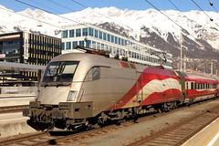ÖBB 1116 249-4 RailJet Ski-WM, Innsbruck Hbf (TaurusES64U4) Tags: taurus 1116 es64u2 öbb