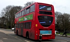 London General E140 on route 118  Mitcham 09/03/19. (Ledlon89) Tags: bus buses tfl transport london londonbus londonbuses londontransport goaheadlondon londongeneral general goaheadgroup