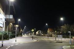Night Shoot , 63 (doojohn701) Tags: night dusk dark streetlighting roundabout led trees vegetation buildings architecture houses sky road junction row bexleyheath uk