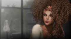 Rule The World (tarja.haven) Tags: hair meshhair curlyhair gaeg gaegbentohead gaegbrows gaegeyes gaegeyeshadow gaeglipstick gaeglashes gaegbeautymarks necklace meshjewellery meshnecklace photography photo pixelart portrait tarjahaven event skinfair anybodyevent avatar secondlife sl digitalart fashion virtual