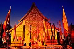 "Wat Chedi Luang. (ol'pete) Tags: buddhist พุทธกาลนิชน chiangmai เชียงใหม่ ""lakmuang"" citypillar ศาลหลักเมีอง ""templeassemblyhall"" โบสถ์ ประเทศไทย thailand เมืองไทย wat วัด temple wihan วิหาร ""watchediluang"" วัดเจดีย์หลวง ""canon7dmk2"" earthasia"