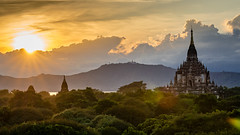 Discovering Bagan (bransch.photography) Tags: ancient asian landscape asia buddhist old view myanmar travel traditional burma shrine culture religious sunset historical sky beautiful stupa spectacular stunning religion architecture bagan buddhism amazing temple pagoda dusk