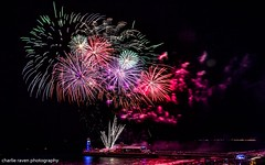 Fireworks - Bournemouth Pier (charlie raven) Tags: fireworks new years eve pier bournemouth pyro spectacular canon seaside seascape night low light photography photographer amazing awesome happy year 2018 charlie raven reflection