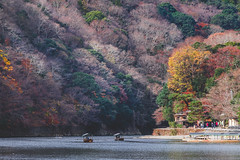 Postcard-able Arashiyama (little_stephy0925) Tags: fujifilm fuji fujifilmxh1 fujixh1 xh1 fujinonxf50140mm xf50140mm xf50140 mirrorlesscamera fujiastia beautifulscenery landscape landscapelover natureseekers japan kansai kyoto arashiyama fallfoliage redleaves colorful journeytokyoto discoverjapan explorejapan beautifuljapan