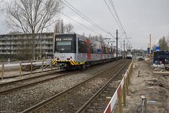 Overgangssituatie (Tim Boric) Tags: amstelveenlijn lijn51 amstelveen beneluxbaan biesbosch sneltram tram streetcar strassenbahn interurban überlandbahn caf s3 gvb