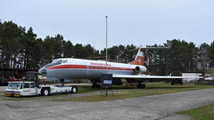 Tupolev Tu.134A c/n 9350906 Interflug registration DDR-SCH (Erwin's photo's) Tags: finow museum germany luftfahrtmuseum finowfurt museumsstrase 1 16244 schorfheide duitsland preserved aircraft ddr nva aviation tupolev tu134a cn 9350906 interflug registration ddrsch