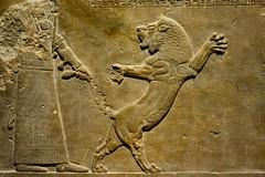 London 2018 – British Museum – Pulling the tail of a lion (Michiel2005) Tags: ashurbanipal assyria exhibition tentoonstelling assyrian relief reliëf lionhunting lionhunt leeuwenjacht britishmuseum bm uk unitedkingdom greatbritain vk verenigdkoninkrijk grootbrittannië engeland england london londen leeuw lion