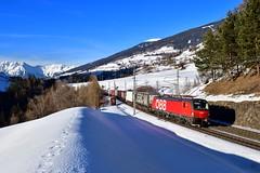 "1293 024 ""ÖBB"" Mühlbachl (Matthias Greinwald) Tags: öbb österreichische bahn bundesbahn brenner brennero 1293 024 vectron rola mühlbachl"