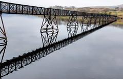 464A9068F (Cilmeri) Tags: trawsfynydd gwynedd snowdonia eryri wales water landscapes lakes reflections bridges