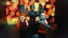 Pyromaniacs 🔥 (The_Brick_Legend) Tags: dccomics supervillains heatwave volcana firefly batman lego toy