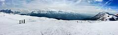 Bellamonte (vannuc) Tags: clouds sky weekend horizon white alps mountain slopes panorama bellamonte italy dolomiti neve snow