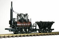 Lego 'Steam Elephant' (Mr_Kleinstein) Tags: lego train railroad history steamengine steamlocomotive steampunk gauge1